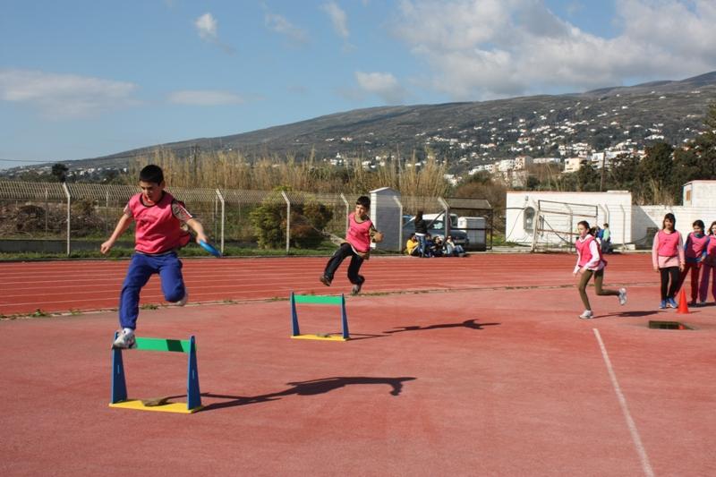 Τα kids athletics στην Άνδρο