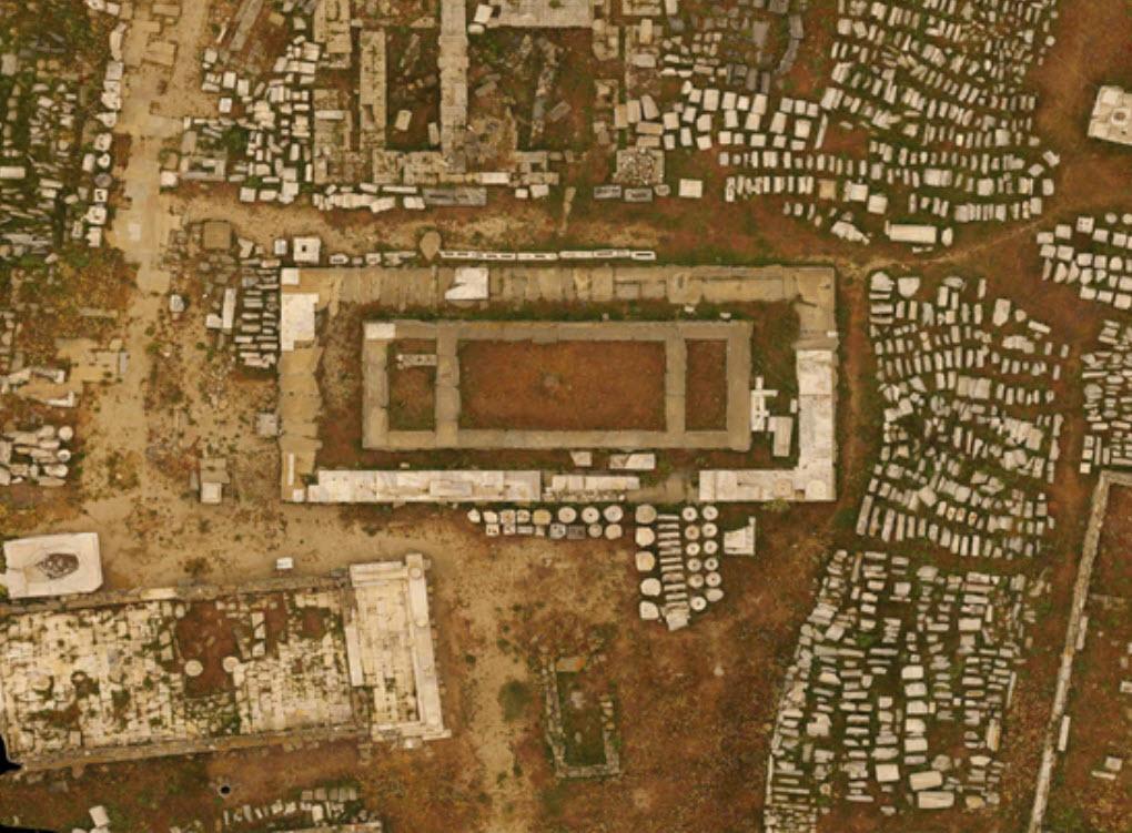 Δήλος, Ανοιχτό Μουσείο: Έργα αναστήλωσης αξίας 4,5εκ.€ στο νησί του Απόλλωνα