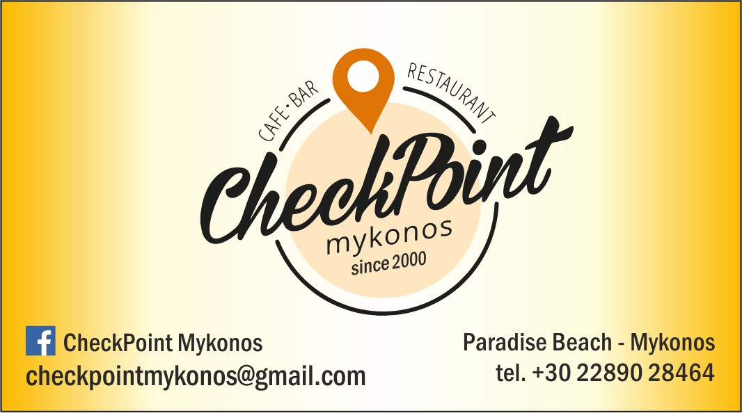 CHECK POINT Restaurant - Bar at Paradise Beach