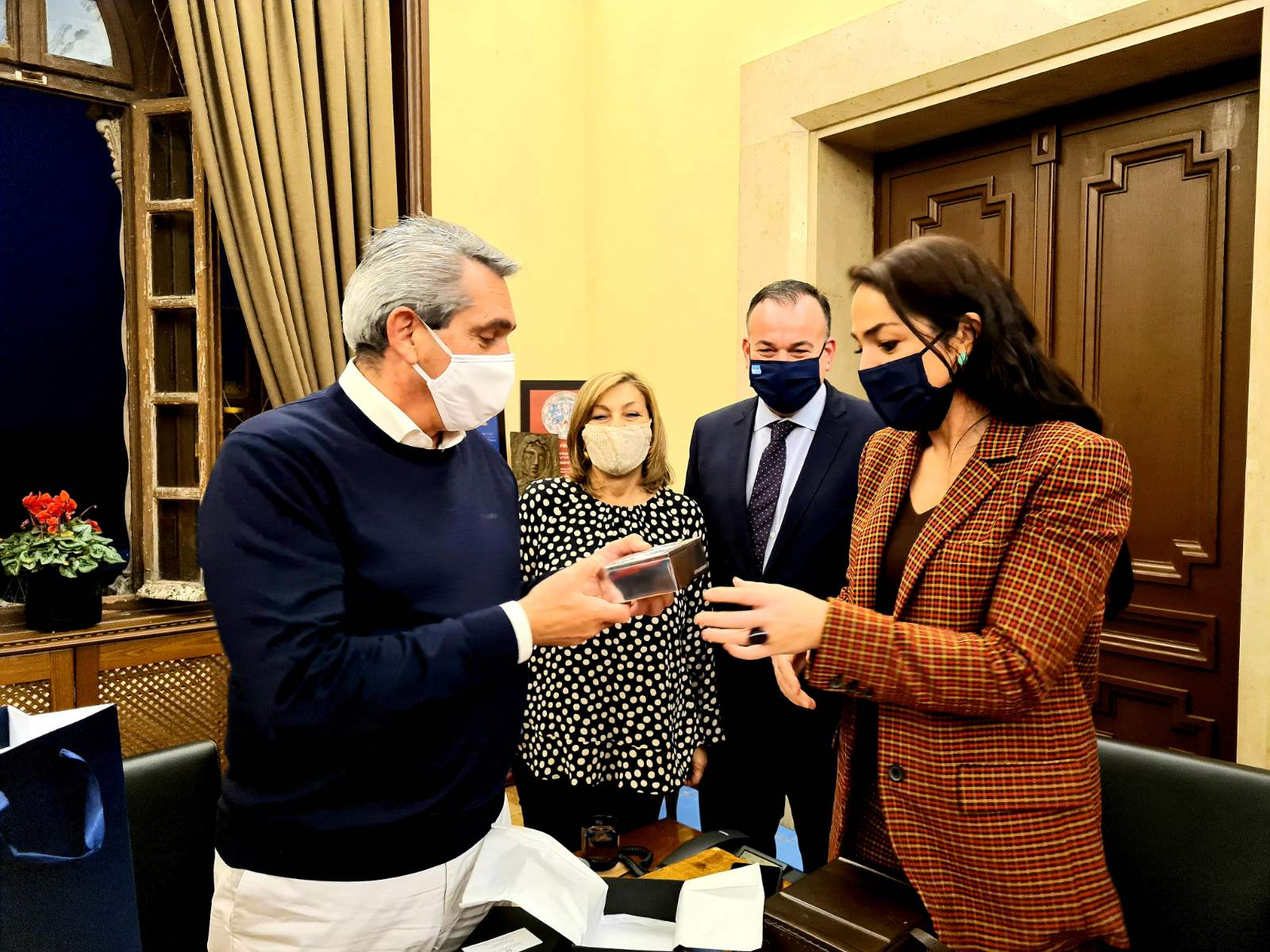 Eπίσκεψη της Υφυπουργού Εργασίας και Κοινωνικών Υποθέσεων, Δόμνας Μιχαηλίδου στην Περιφέρεια Νοτίου Αιγαίου