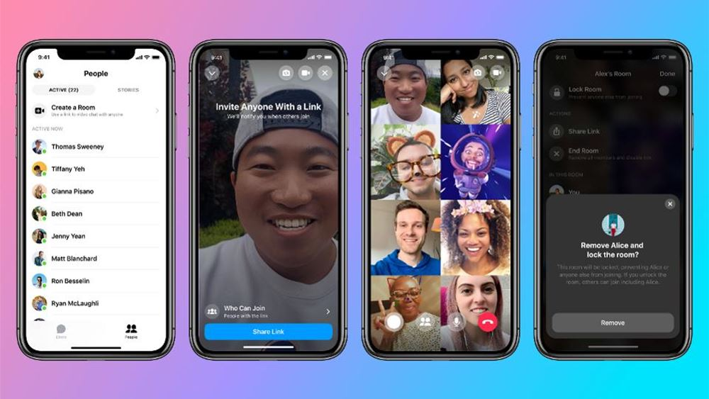 Facebook Messenger Rooms: Μαζική βιντεοδιάσκεψη με έως 50 χρήστες