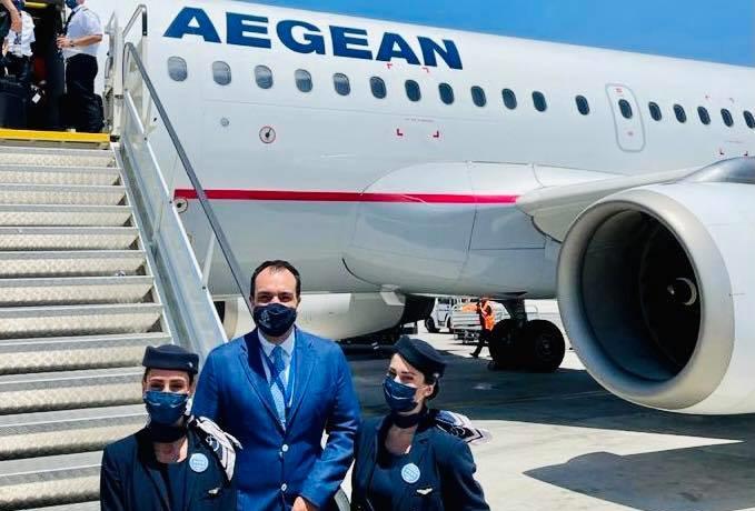 Δήμαρχος Μυκόνου: «Η νέα βάση της Aegean στη Μύκονο  θα εξυπηρετεί με επιπλέον απευθείας πτήσεις πέντε μεγάλες χώρες του εξωτερικού»