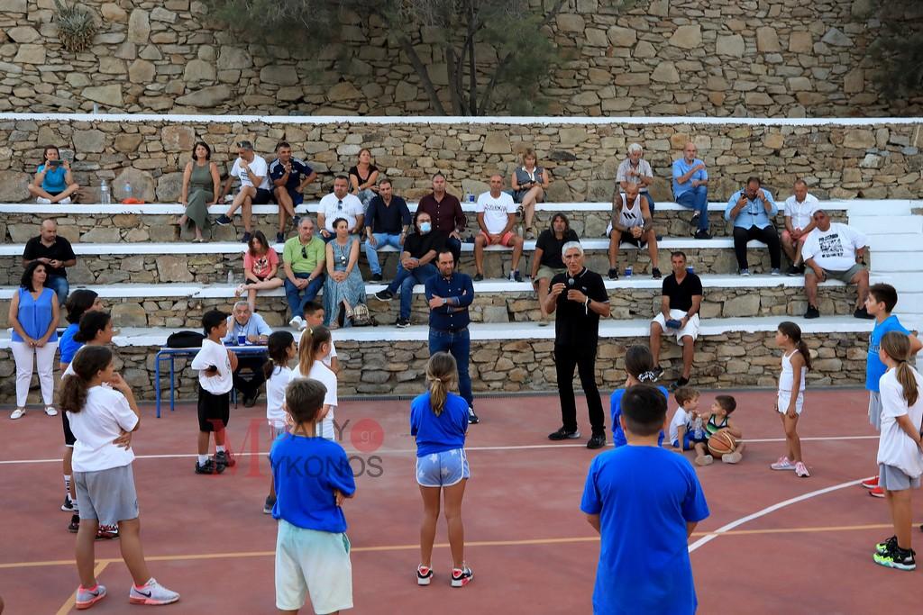 Λαμπερό φινάλε στο «1ο Mykonos Basketball Camp» (pics & vid) Κύριο