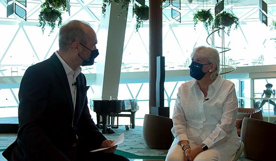 Γιατί η Celebrity Cruises επέλεξε την Ελλάδα για το παγκόσμιο ντεμπούτο του καινούριου της πλοίου Celebrity Apex (VIDEO)