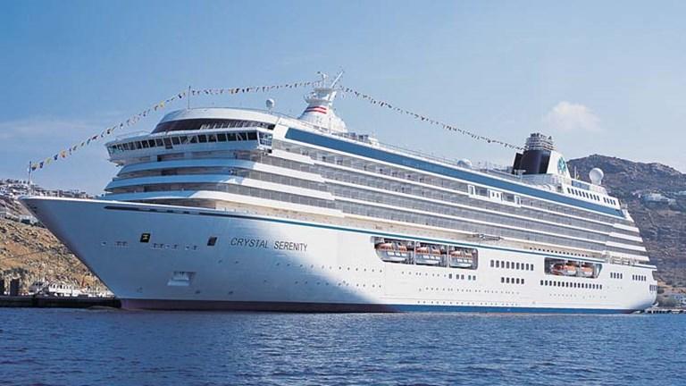 Crystal Cruises: Μόνο εμβολιασμένοι στις κρουαζιέρες της