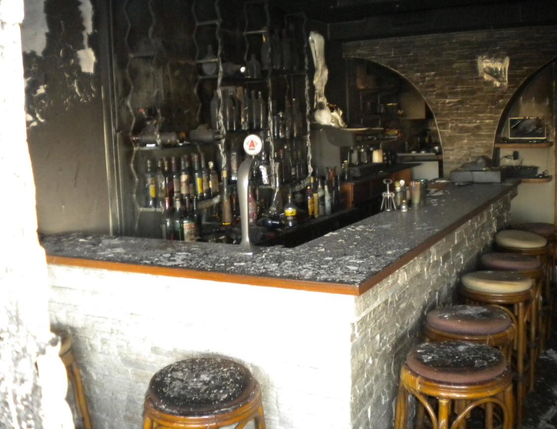 Παρανάλωμα του πυρός έγινε μπαρ της Πάρου