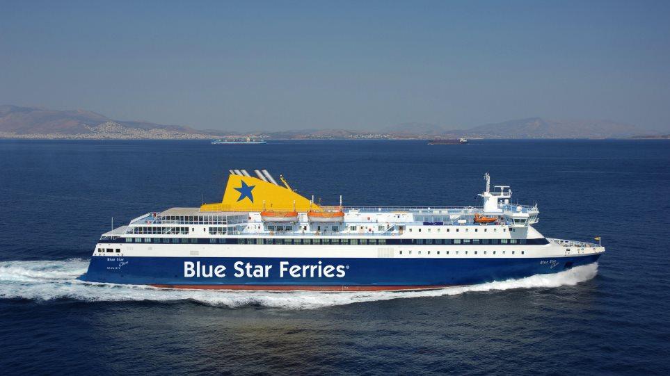 Δένει το «Blue Star Paros» και το «Blue Star Chios» ταξιδεύει για «δύο»