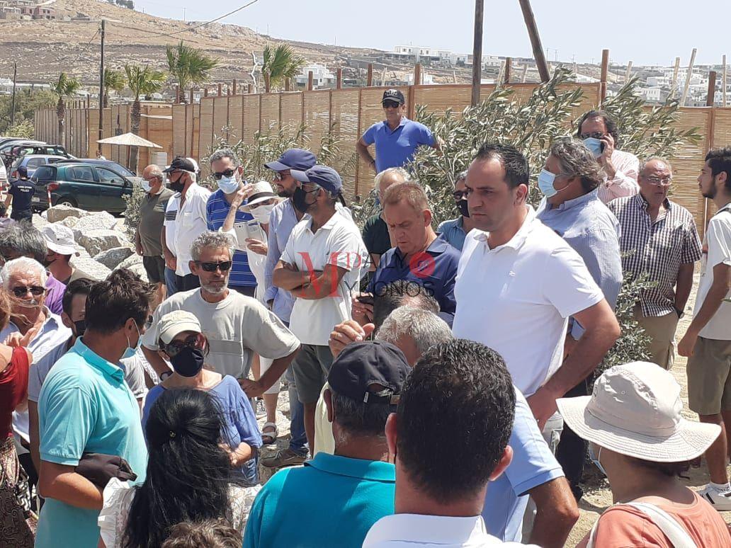 Στο Καλό Λιβάδι βρέθηκε και ο Δήμαρχος Μυκόνου