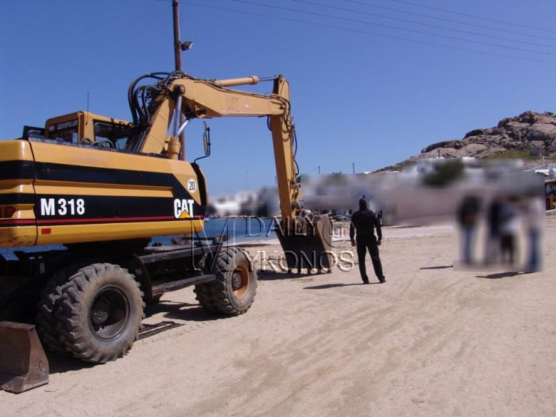 Συλλήψεις και κατασχέσεις μηχανημάτων για παράνομες εργασίες