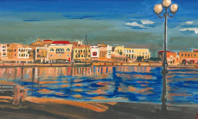 Έμπνευση από το Αιγαίο ο τίτλος της έκθεσης ζωγραφικής που ξεκίνησε εχθές