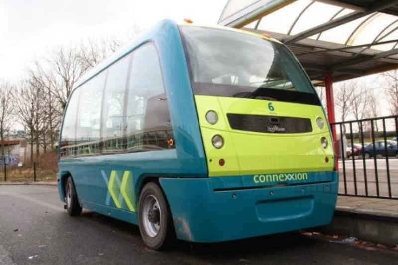 Έτοιμο για την πρώτη βόλτα το λεωφορείο χωρίς οδηγό