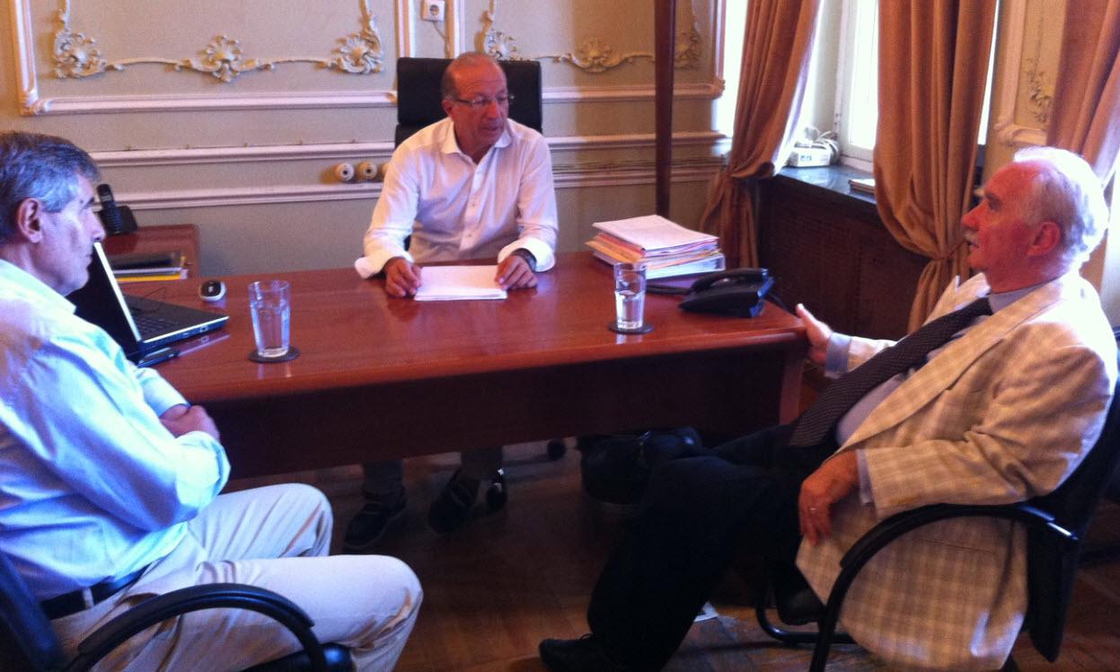 Θέματα που απασχολούν την Κέα το αντικείμενο συνάντησης του αντιπεριφερειάρχη Γ. Λεονταρίτη με τον Δήμαρχο Γιάννη Ευαγγέλου