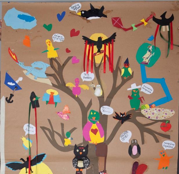 Έκθεση έργων των μαθητών του Παιδικού Εργαστηρίου Τέχνης