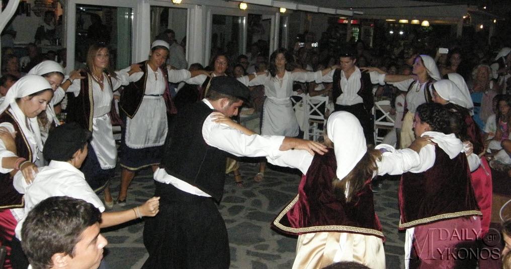 Η χορευτική παράδοση της Ελλάδας δίνει ραντεβού στη Σύρο