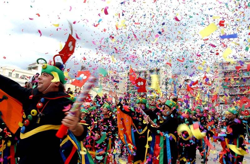 Η Πάτρα γιορτάζει το καρναβάλι πανηγυρικά και το 2015
