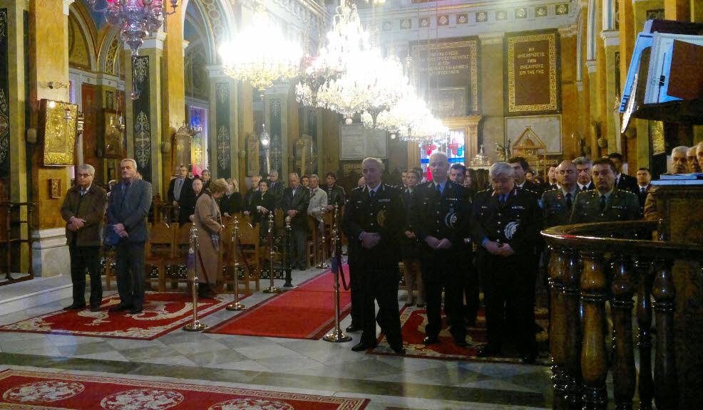 Εορτασμός των Προστατών του Πυροσβεστικού Σώματος