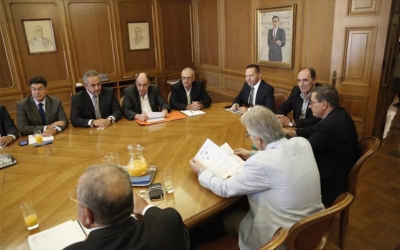 Ευρεία σύσκεψη στην ΤτΕ για τα capital control