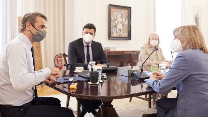 Κυρ. Μητσοτάκης: Έχουμε επαρκή εμβόλια για το χειμώνα σε περίπτωση που χρειαστεί επιπλέον δόση