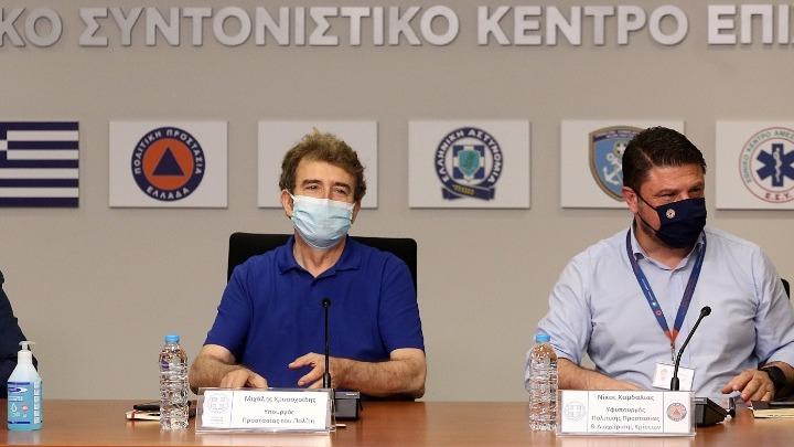 Σύσκεψη αύριο υπό τον Μ. Χρυσοχοΐδη και τον Ν. Χαρδαλιά για το κύμα καύσωνα