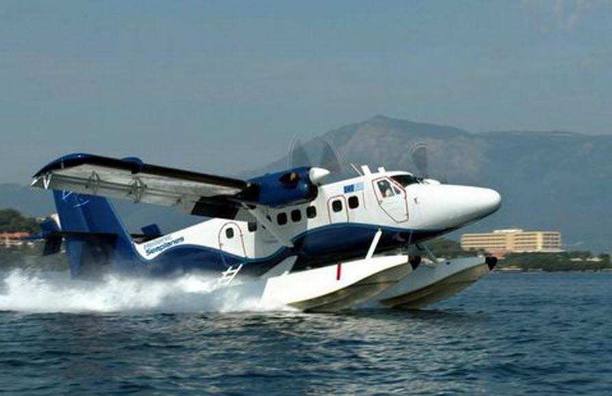 Πόση ώρα θα διαρκεί η πτήση Αθήνα - Μύκονος με υδροπλάνο;