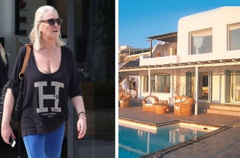 Ρούλα Κορομηλά: Το «παλάτι» αξίας 2.300.000€ στη Μύκονο ποιος το χαίρεται σήμερα