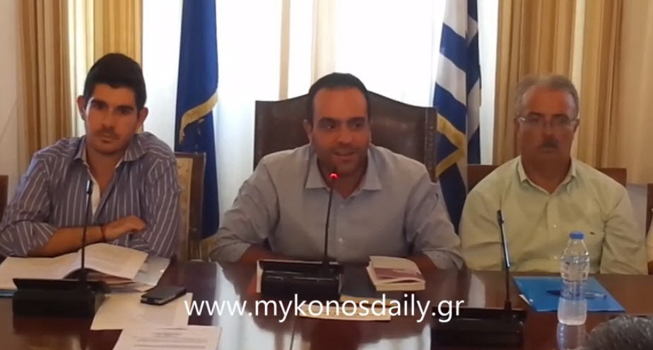 Video - Ομιλία Δημάρχου Κωνσταντίνου Κουκά στην πρώτη συνεδρίαση του Δ.Σ.