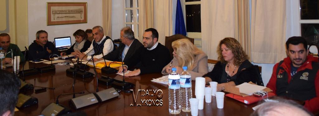 Ψηφίστηκε εχθές η νέα Επιτροπή Αισθητικής του Δήμου Μυκόνου