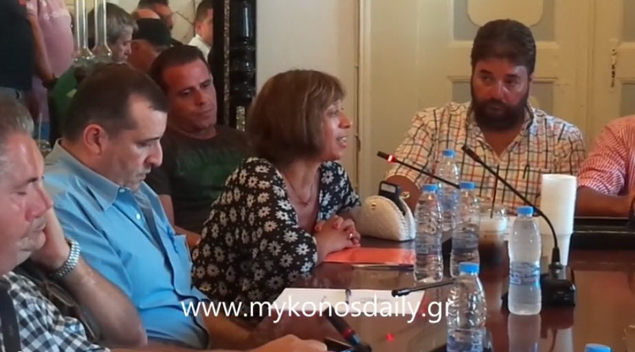 Video - Ομιλία της επικεφαλής της ελάσσονος μειοψηφίας Άννας Καμμή στο Δ.Σ.