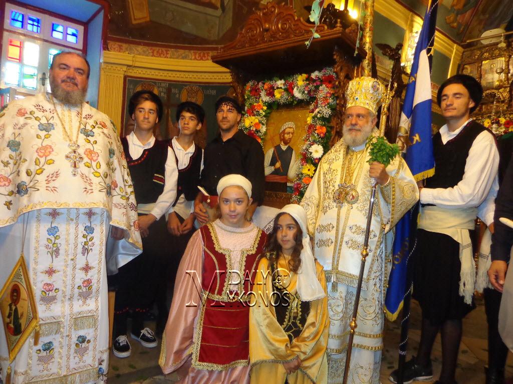 Ο εορτασμός του Αγίου Μανουήλ στη Μύκονο