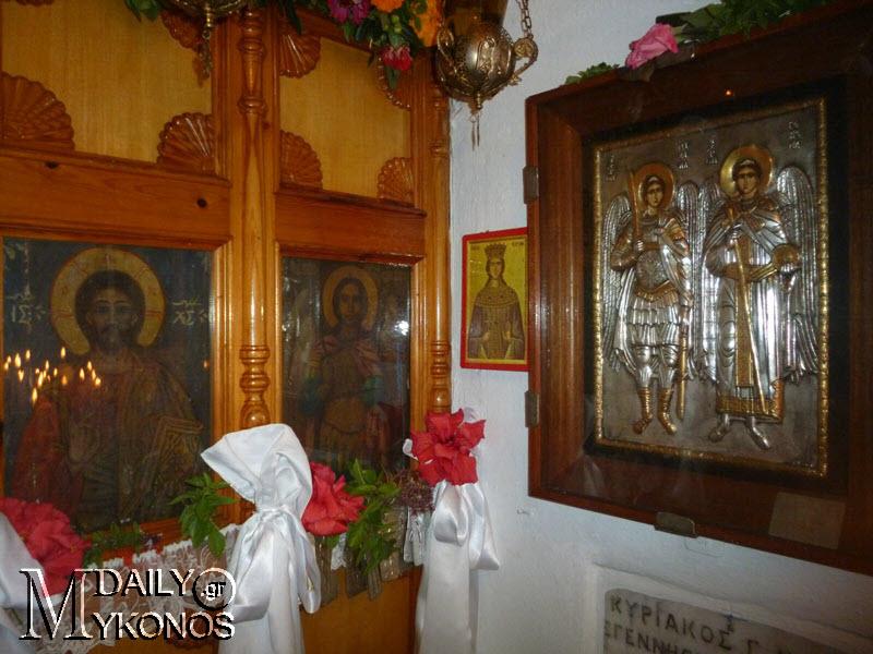 Θεία λειτουργία έγινε το πρωί στον Άγιο Ταξιάρχη της Μεσσαριάς