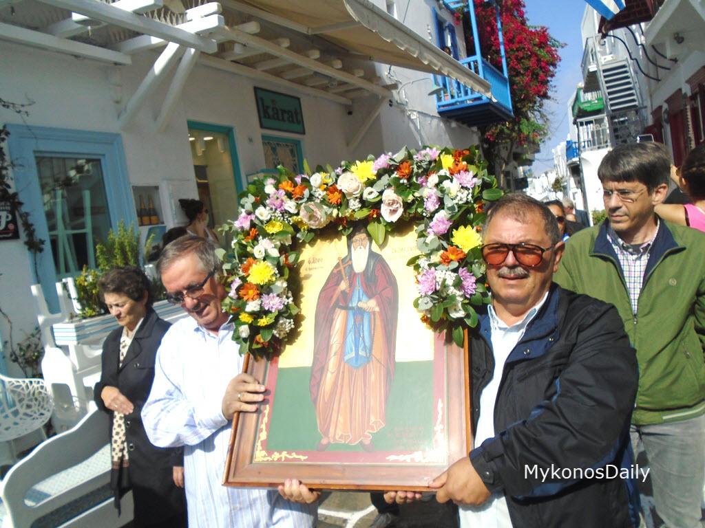 Ο εορτασμός του Αγίου Αρτεμίου μέσα από τον φακό του MykonosDaily