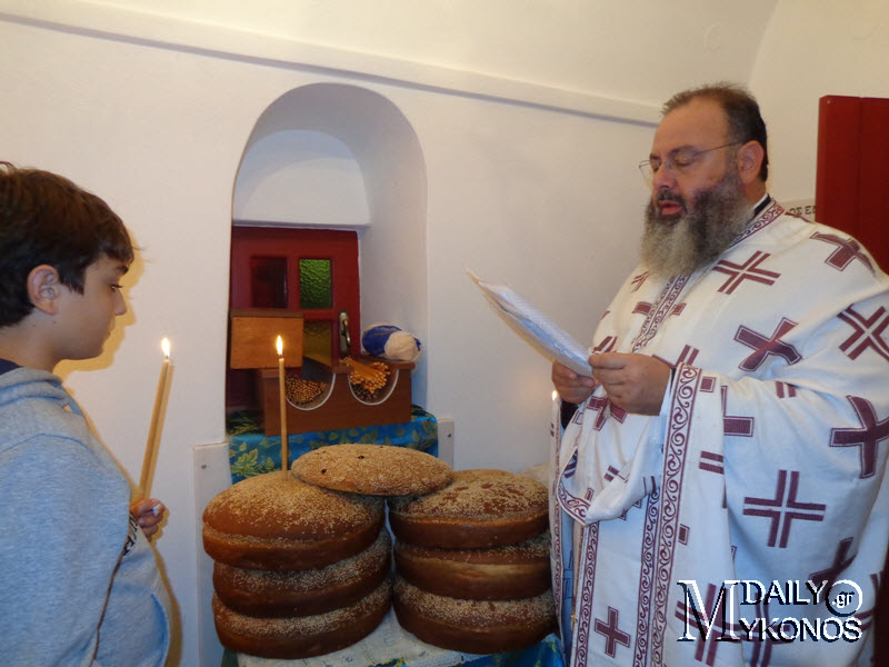 Φωτορεπορτάζ από την Θεία Λειτουργία και το πανηγύρι του Αι Γιάννη Χρυσόστομου στον Βόθωνα