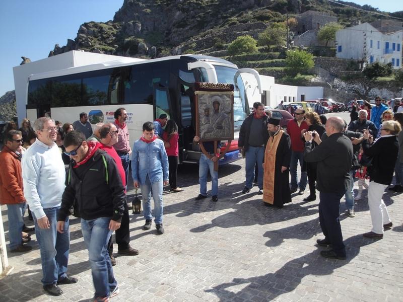 Πραγματοποιήθηκε το Σεργιάνι της Παναγιάς στη Νίσυρο