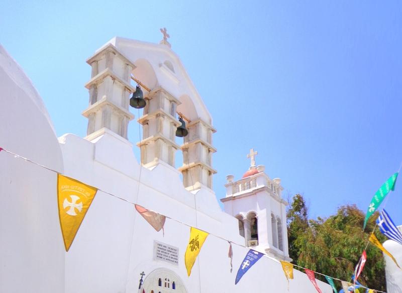 Προσευχητικές και Λειτουργικές εκδηλώσεις στον Ι. Μητροπολιτικό Ναό Μυκόνου