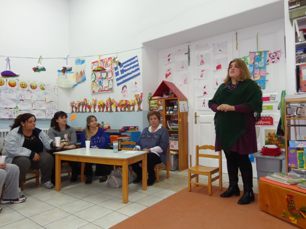 Ενημερωτική συνάντηση για γονείς και προσωπικό στους Δημοτικούς Παιδικούς Σταθμούς