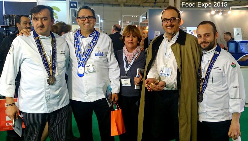Εκπρόσωποι του Δήμου και σεφ της Μυκόνου στην Food Expo 2015