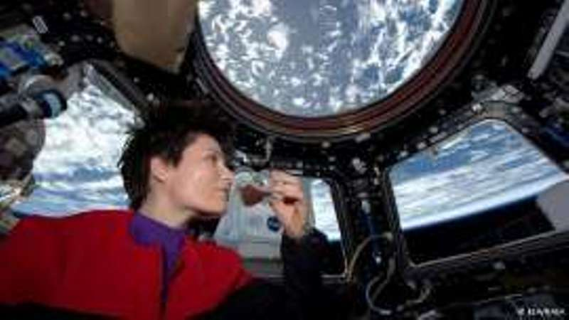 O διεθνής διαστημικός σταθμός απέκτησε εσπρεσιέρα