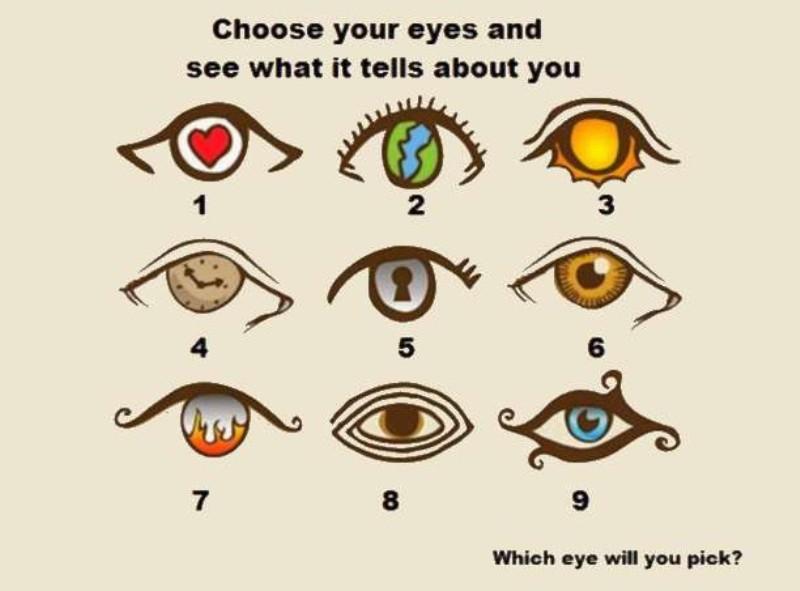 Ψυχαγωγικό τεστ: ποιο μάτι προτιμάς;