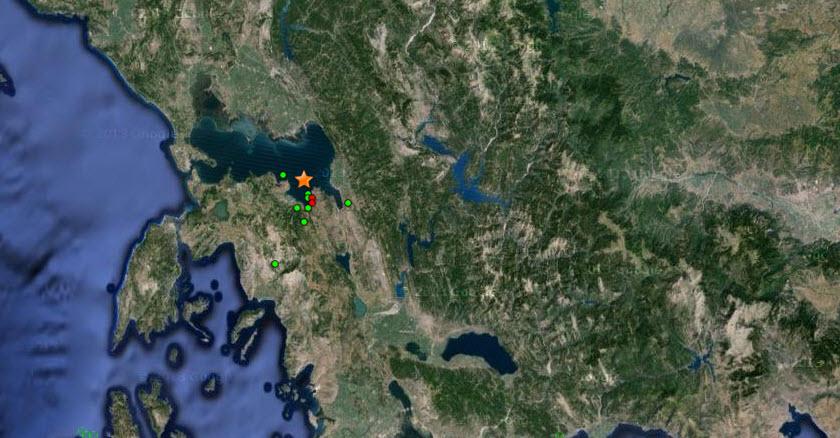 Σεισμός 5,2 ρίχτερ στην Άρτα. Αισθητή η δόνηση και στα Ιωάννινα