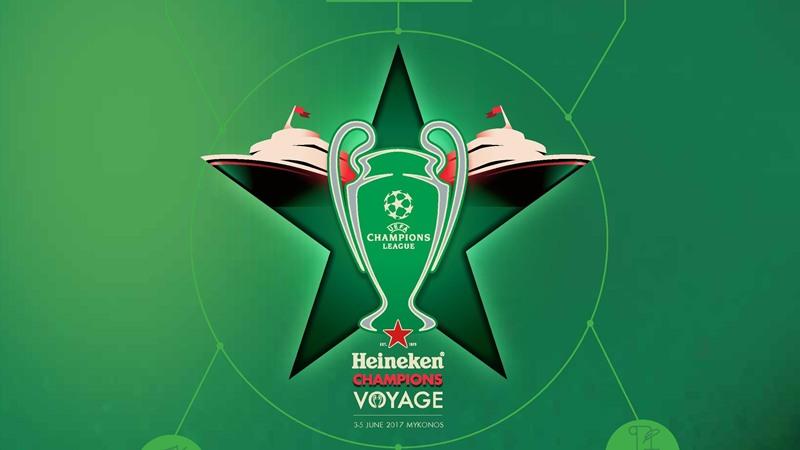 Φέτος και για τρία χρόνια το Heineken Champions Voyage στη Μύκονο