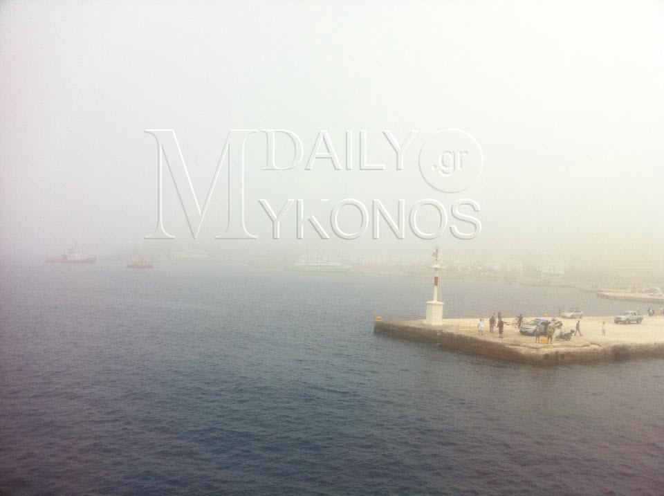 Με ασφάλεια αποβιβάστηκαν στην Τήνο οι επιβάτες του Flying Cat 4