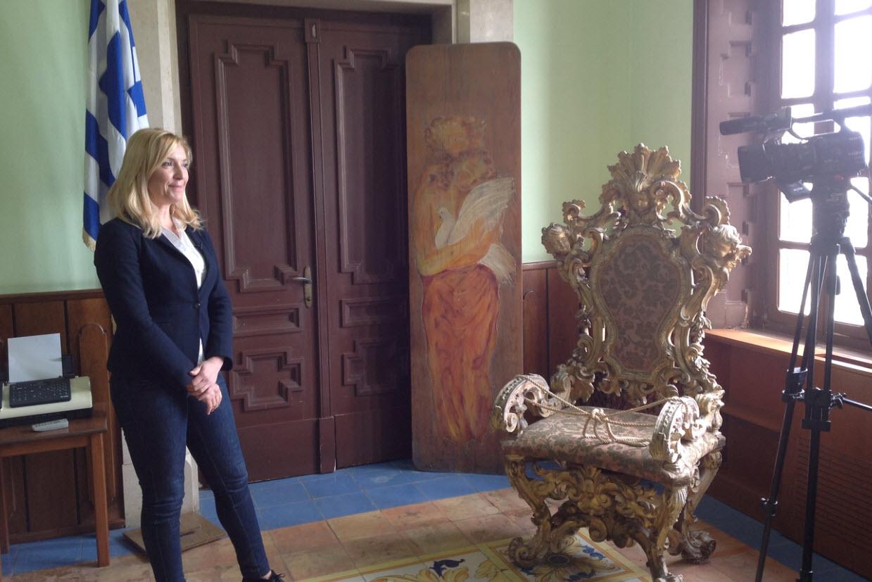 Ναυαρχίδα του Ελληνικού τουρισμού η Ρόδος σύμφωνα με την αντιπεριφερειάρχη κ. Φτακλάκη