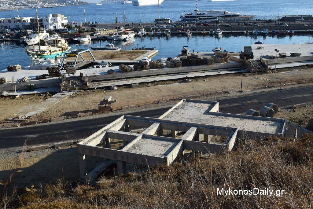 Απομάκρυνση τρέιλερ και σκαφών από χώρους του νέου λιμένα λόγω έργασιών