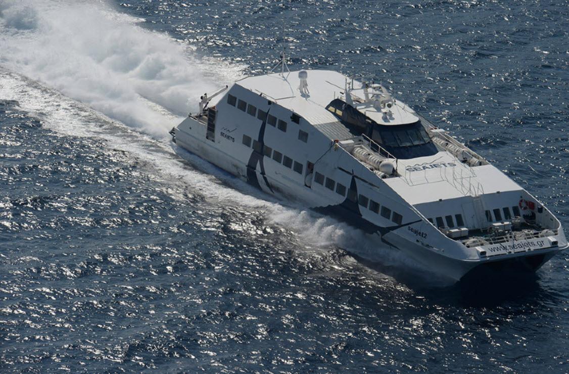 Ταλαιπωρία επιβατών λόγω μηχανικής βλάβης στο Sea Jet II