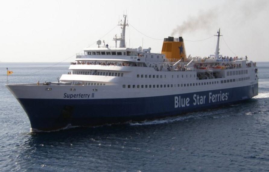 Έκτακτο δρομολόγιο την Δευτέρα για το Super Ferry II