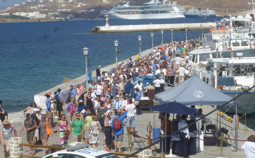 Aισιοδοξία για την τουριστική περίοδο του 2017 στα νησιά του Νοτίου Αιγαίου