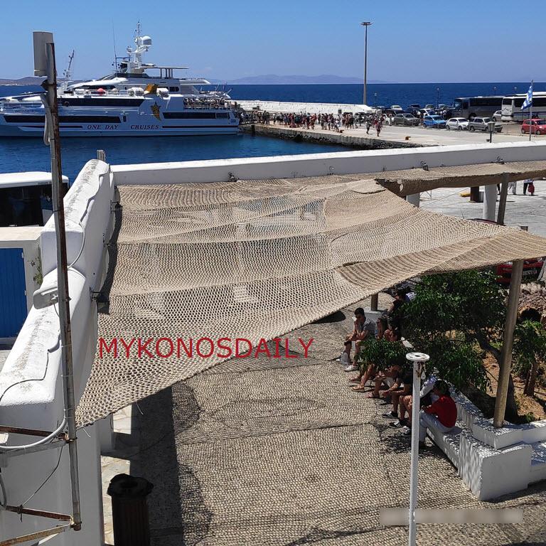 Σκίαστρα και Wi-Fi στην αφετηρία των ΚΤΕΛ στο παλιό λιμάνι