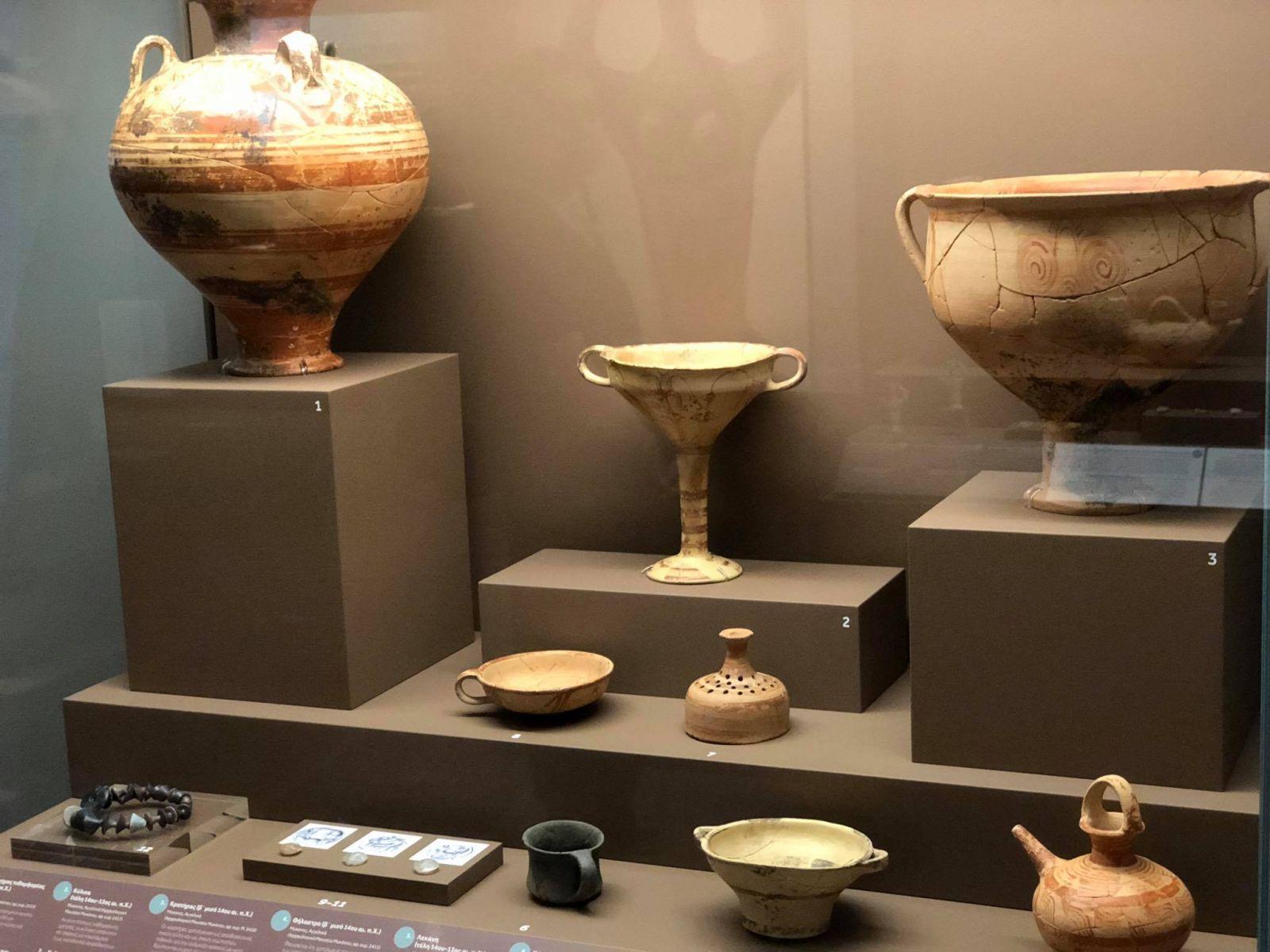 H μυκηναϊκή Μυκόνος στην έκθεση «Από τον κόσμο του Ομήρου. Τήνος και Κυκλάδες στη Μυκηναϊκή εποχή»