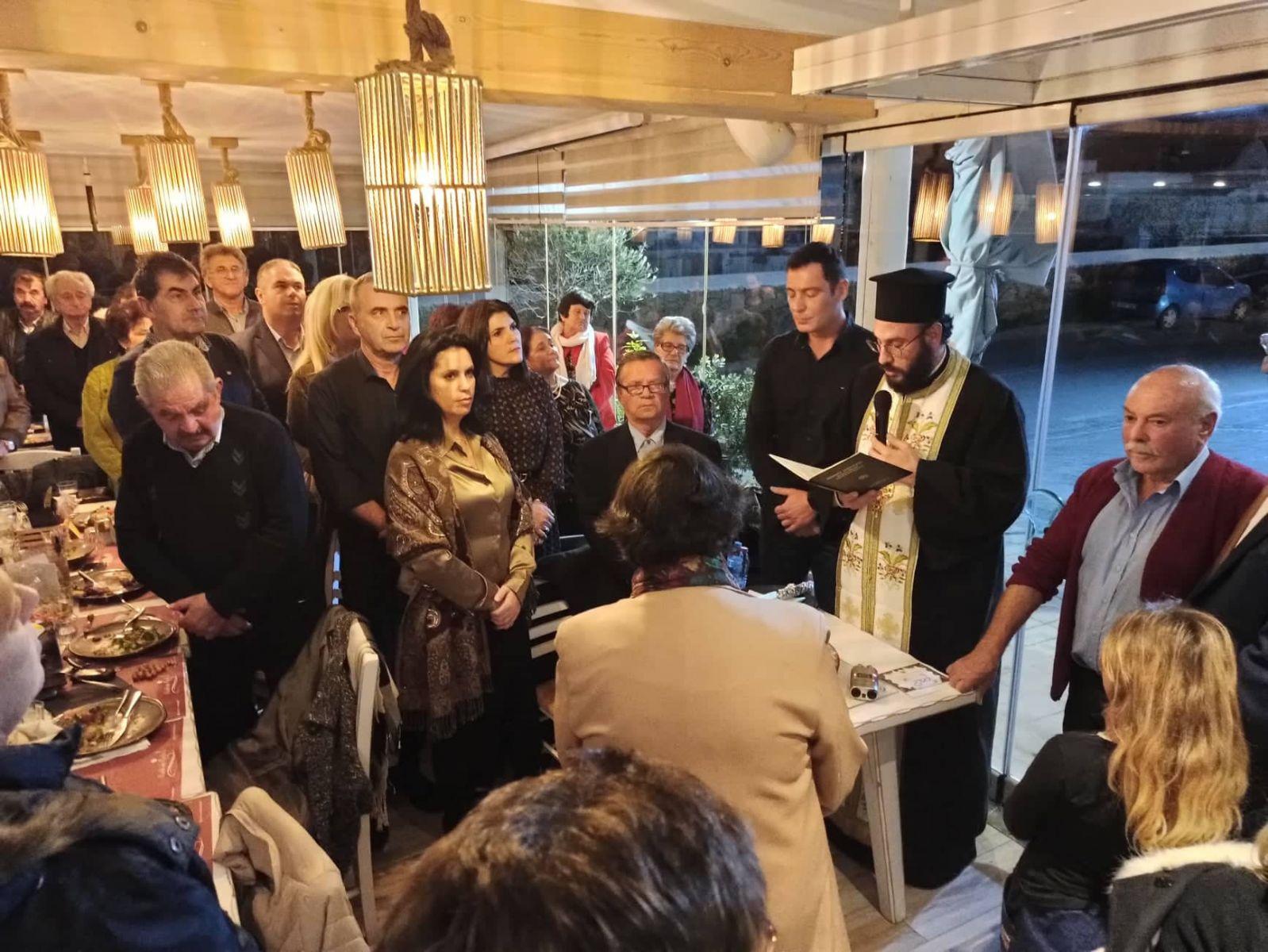 Ο Φιλανθρωπικός Σύλλογος «Μυκονιάτικη Αλληλεγγύη» έκοψε απόψε την Αγιοβασιλόπιτα του