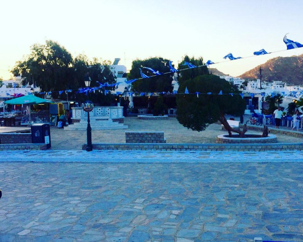Δήμος Μυκόνου: Στοχευμένη αναβάθμιση της πλατείας της Άνω Μεράς
